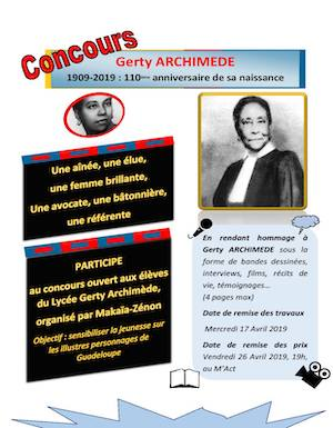 Concours Gerty Archimède